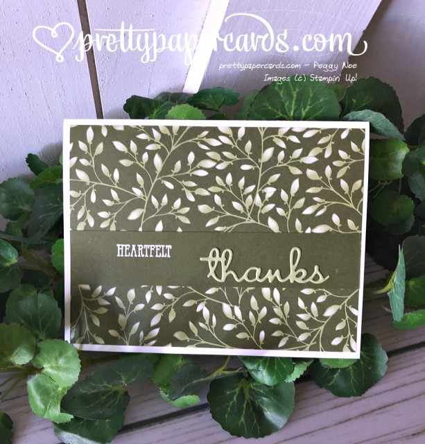 Stampin' Up! Well Written - Peggy Noe - stampinup