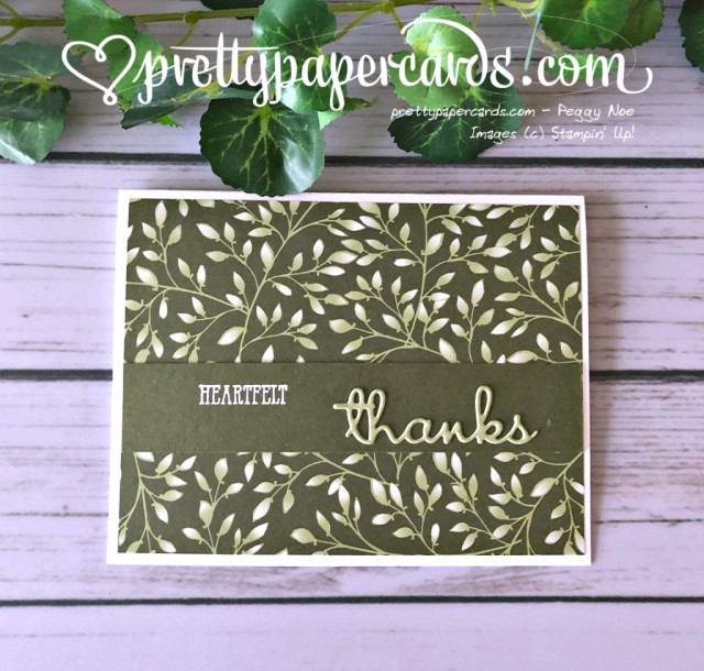 Stampin' Up! Well Written - prettypapercards - stampinup