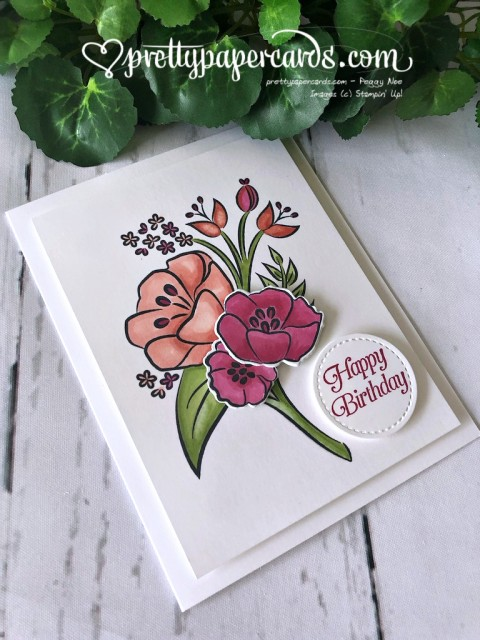 Stampin' Up! All That You Are Card - Peggy Noe - stampinup
