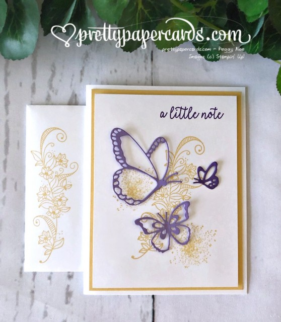 Stampin' Up! Beauty Abounds Card - Peggy Noe - stampinup