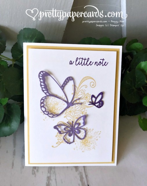 Stampin' Up! Beauty Abounds Card - Pretty Paper Cards - stampinup