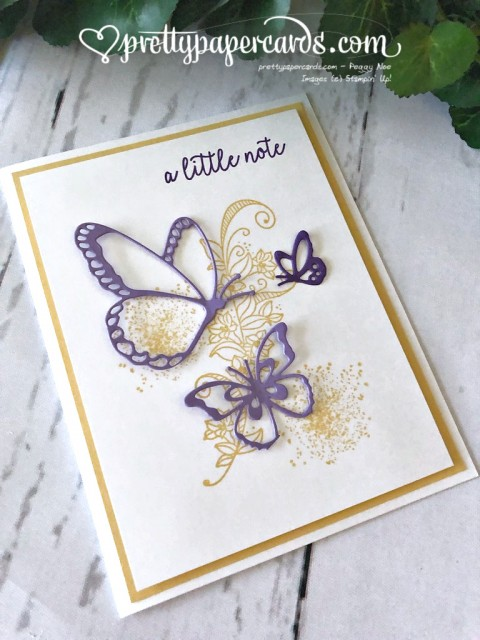 Stampin' Up! Butterfly Card - Peggy Noe - staminup