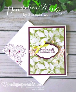 Stampin' Up! Dandelion Wishes - Peggy Noe - stampinup