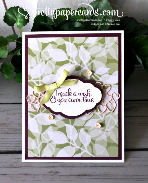 Stampin' Up! Dandelion Wishes - prettypapercards - stampinup