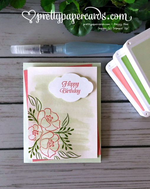 Stampin' Up! Happy Birthday All That You Are - Pretty Paper Cards - stampinup