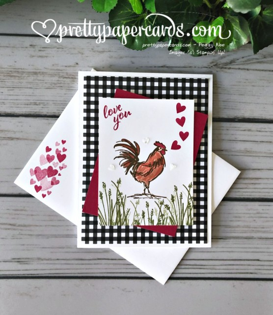 Stampin' Up! Home to Roost - Peggy Noe - stampinup