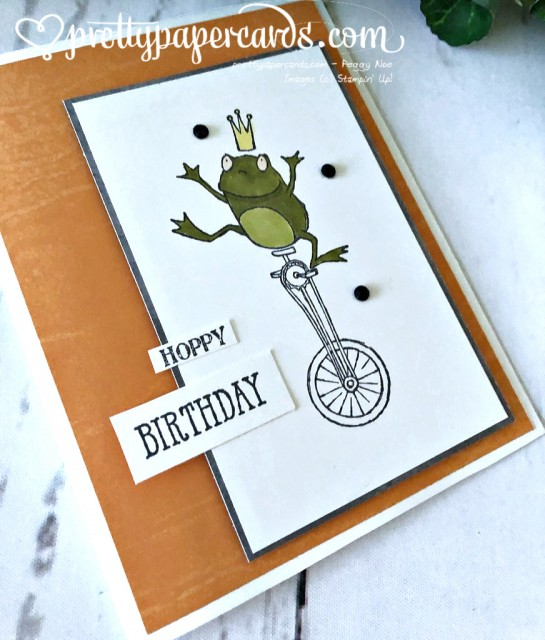 Stampin' Up! Hoppy Birthday - Peggy Noe - stampinup
