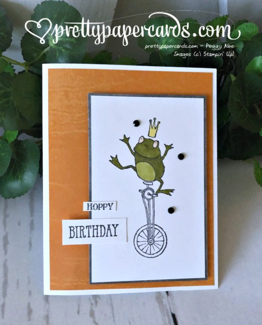 Stampin' Up! Hoppy Birthday - Pretty Paper Cards - stampinup