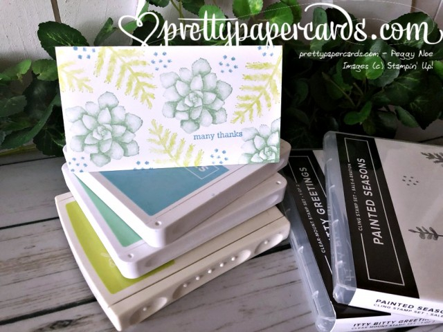 Stampin' Up! Many Thanks Painted Seasons - Peggy Noe - stampinup