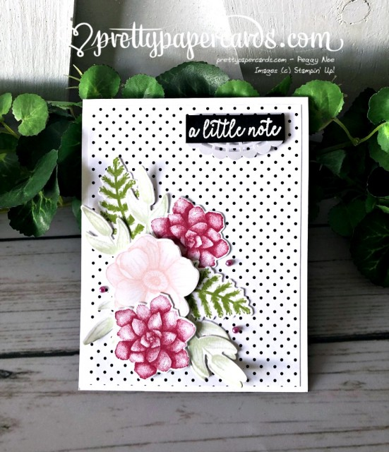 Stampin' Up! Painted Seasons Flowers - Pretty Paper Cards - stampinup