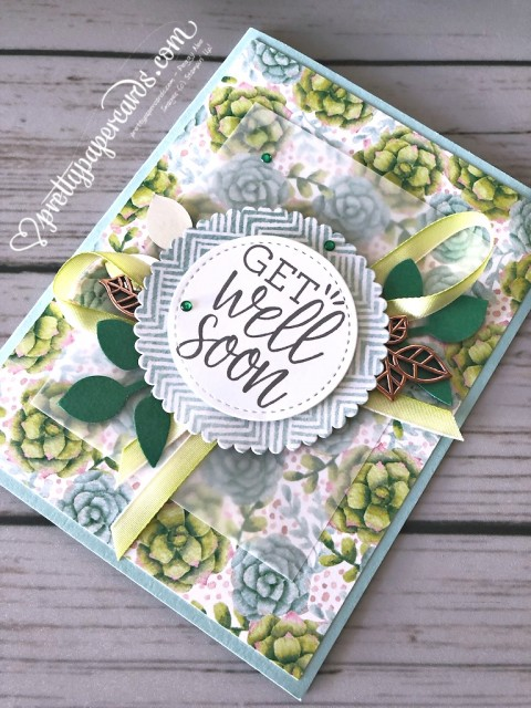 Stampin' Up! Painted Seasons Get Well - Pretty Paper Cards stampinup
