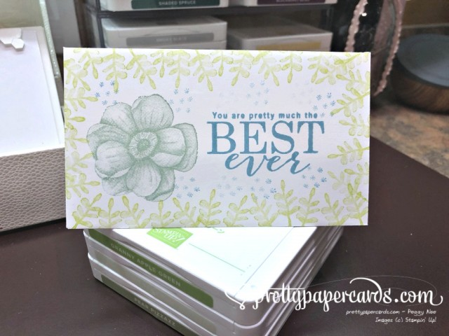 Stampin' Up! Painted Seasons Note - Pretty Paper Cards - stampinup (1)