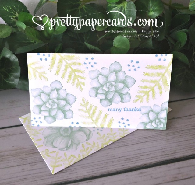 Stampin' Up! Painted Seasons Notes - Peggy Noe - stampinup