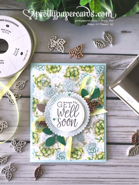 Stampin' Up! Painted Seasons - Pretty Paper Cards - stampinup