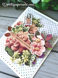 Stampin' Up! Precious Parcel Card - prettypapercards - stampinup