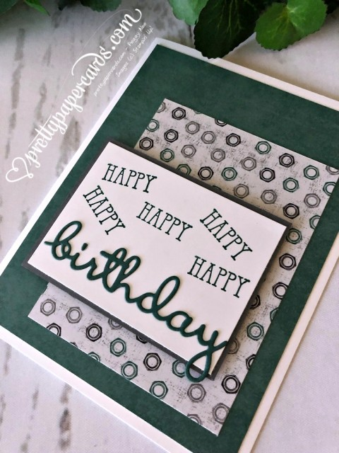 Stampin' Up! Well Said Birthday - Peggy Noe - stampinup