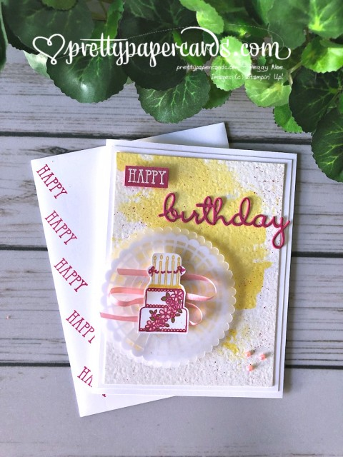 Stampin' Up! Well Wishes - Peggy Noe - stampinup