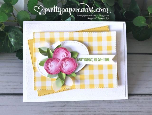 Stampin' Up! 3D Leaf Punch - Peggy Noe - stampinup