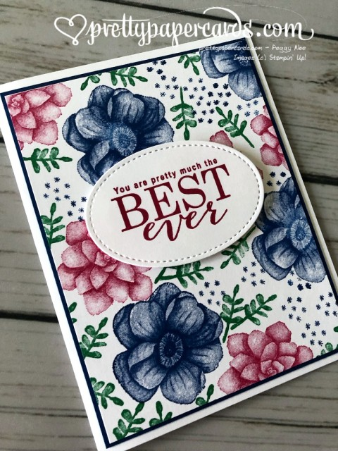 Stampin' Up! All Adorned Best Ever - Peggy Noe - stampinup