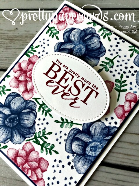 Stampin' Up! All Adorned Best - Pretty Paper Cards - stampinup