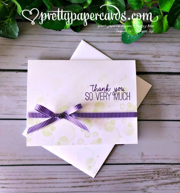 Stampin' Up! Beauty Abounds Simple - Peggy Noe - stampinup