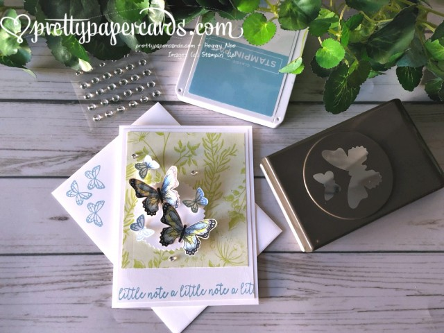 Stampin' Up! Butterfly Gala Note - Peggy Noe - stampinup