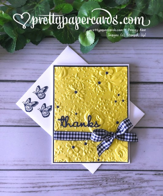Stampin' Up! Country Floral Thanks - Peggy Noe - stampinup