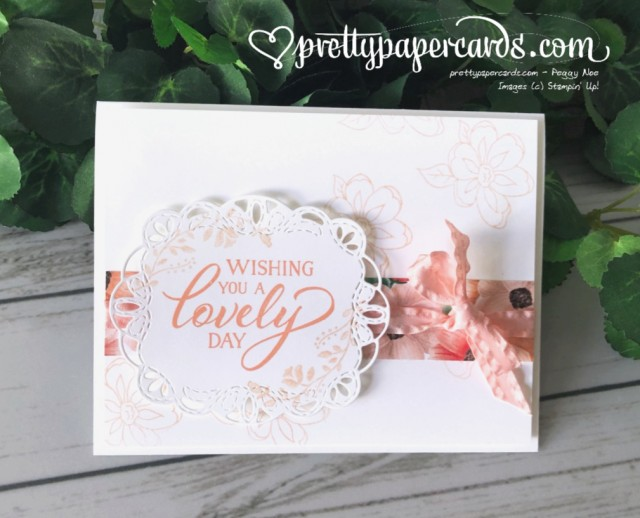 Stampin' Up! Forever Lovely Card - Peggy Noe - stampinup