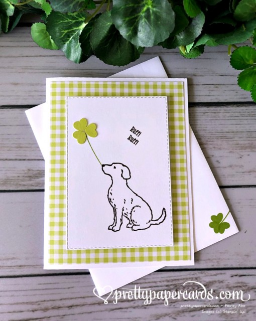 Stampin' Up! Happy Tails - Peggy Noe - stampinup