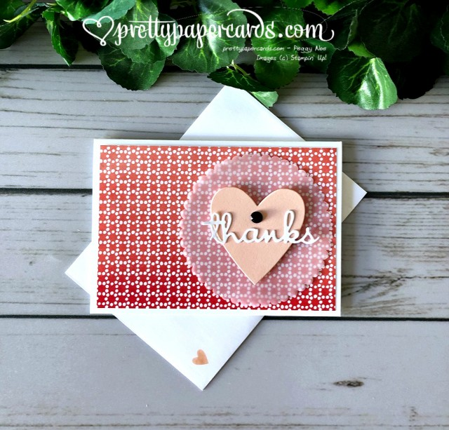 Stampin' Up! Heart of Thanks - Peggy Noe - stampinup