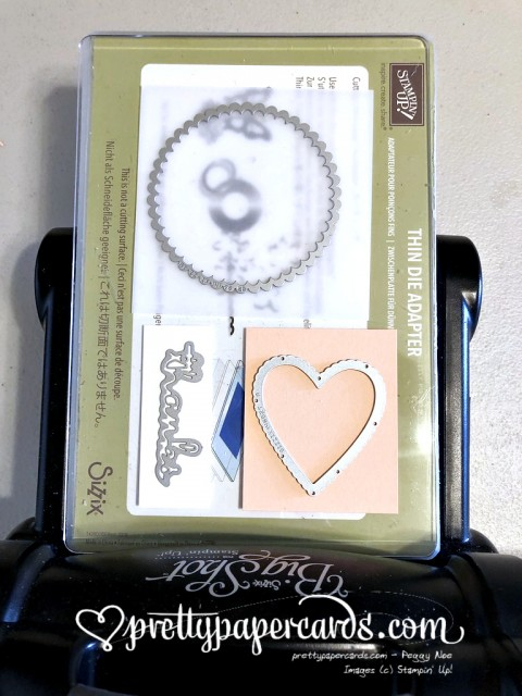 Stampin' Up! Heart of Thanks Set Up - Peggy Noe - stampinup