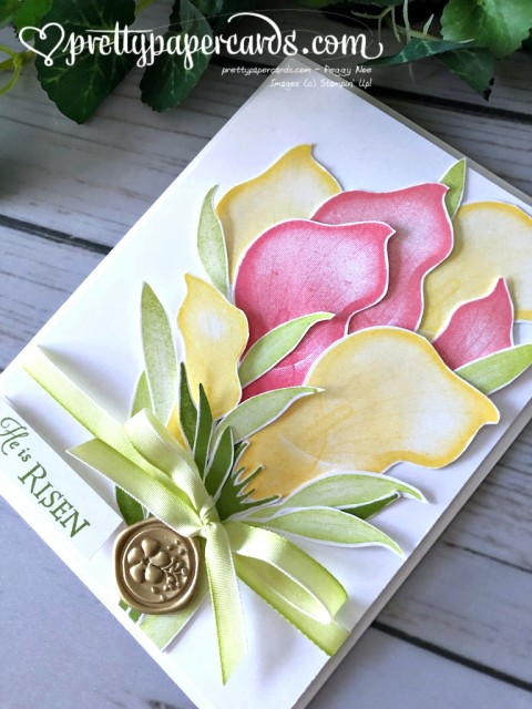 Stampin' Up! Lasting Lily Card - Peggy Noe - stampinup