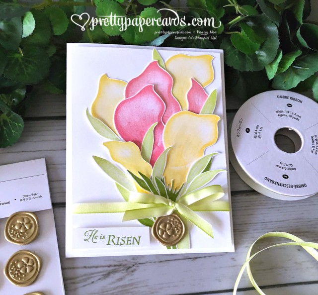 Stampin' Up! Lasting Lily - Peggy Noe - stampinup