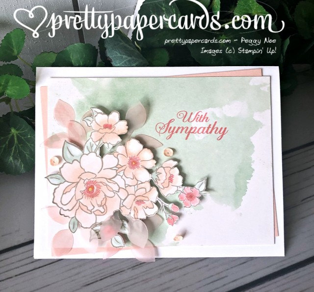 Stampin' Up! Lovely Lattice Sympathy - Peggy Noe - stampinup