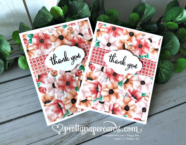 Stampin' Up! Painted Label - Peggy Noe - stampinup