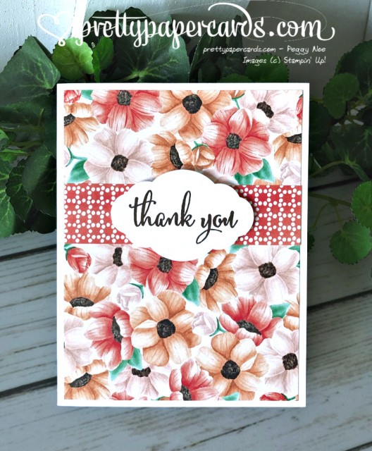 Stampin' Up! Painted Pretty Label - Peggy Noe - stampinup