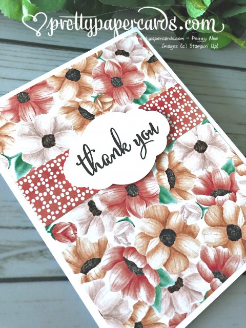 Stampin' Up! Painted Season Pretty Label - Peggy Noe - stampinup