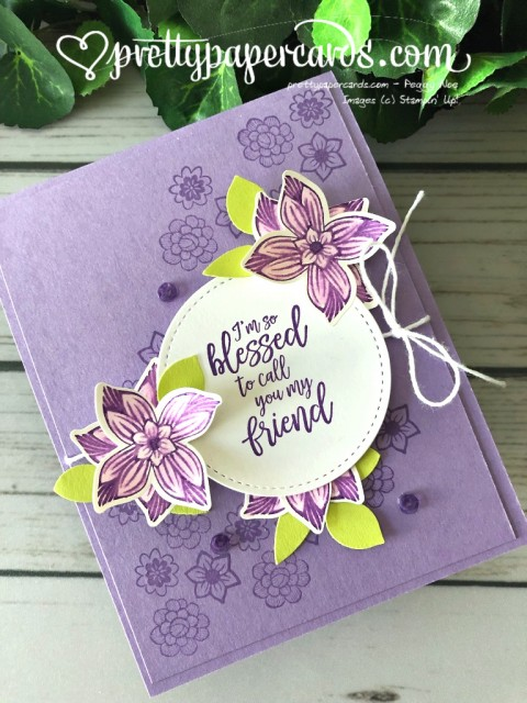 Stampin' Up! Pop of Petals Watercolor - Peggy Noe - stampinup