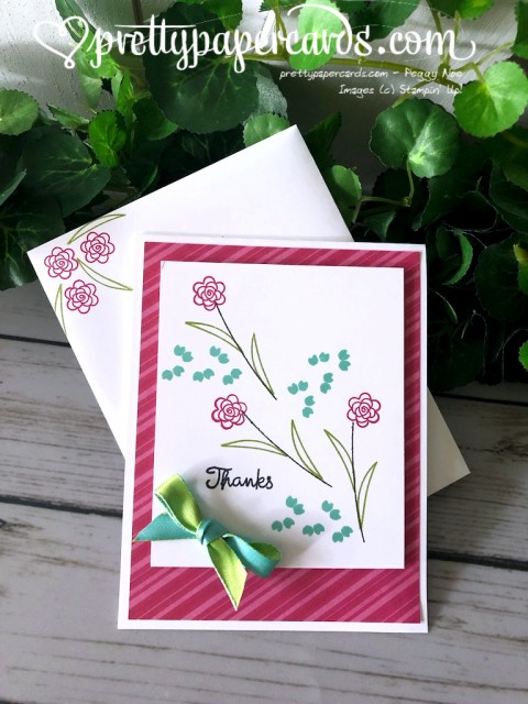 Stampin' Up! Varied Vases - Pretty Paper Cards - stampinup