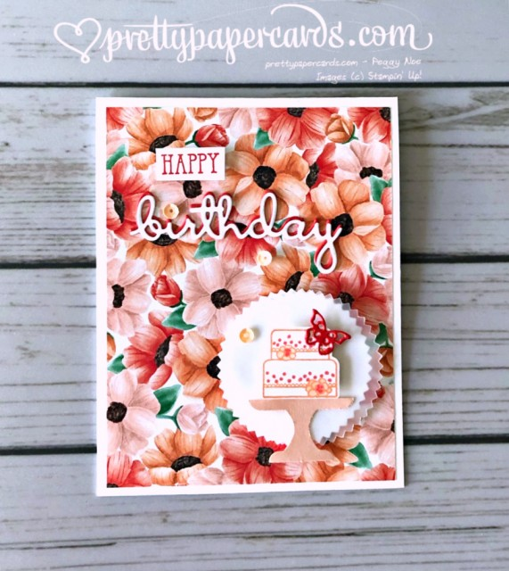 Stampin' Up! Well Said Piece of Cake - Peggy Noe - stampinup