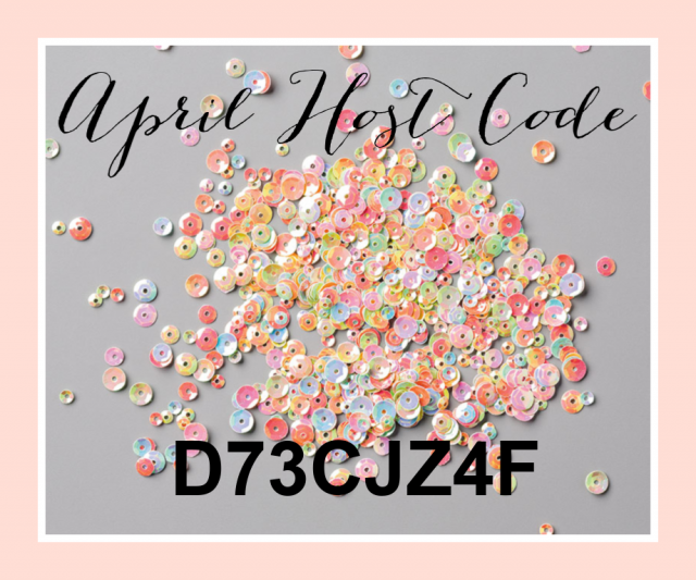 Monthly Host Code Giveaway - Pretty Paper Cards