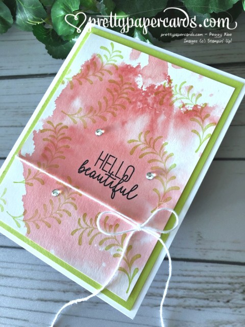 Stampin' Up! Butterfly Gala Beautiful - Peggy Noe - stampinup