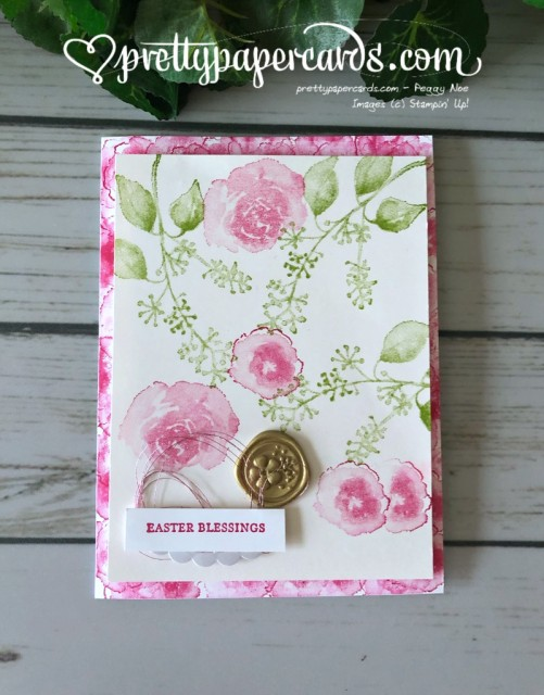 Stampin' Up! First Frost Easter Card - Peggy Noe - stampinup