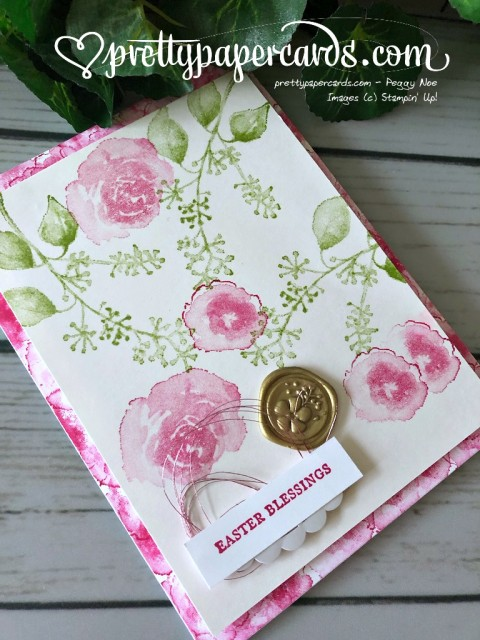 Stampin' Up! First Frost Easter Card - prettypapercards - stampinup