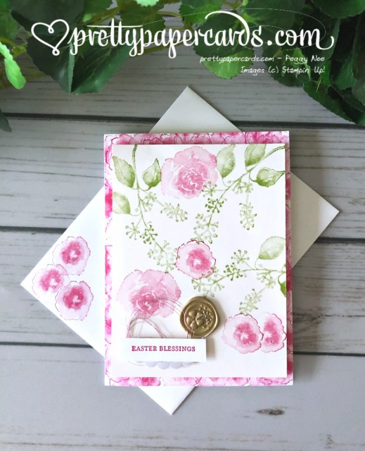 Stampin' Up! First Frost Easter - Peggy Noe - stampinup