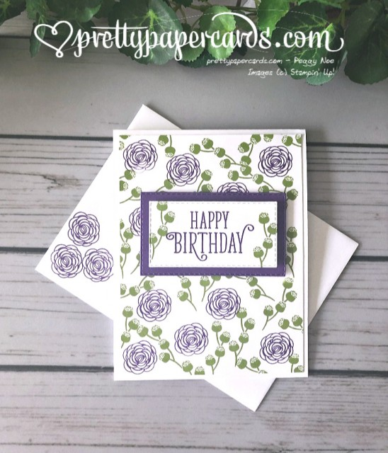 Stampin' Up! Happy Birthday Gorgeous - prettypapercards - stampinup