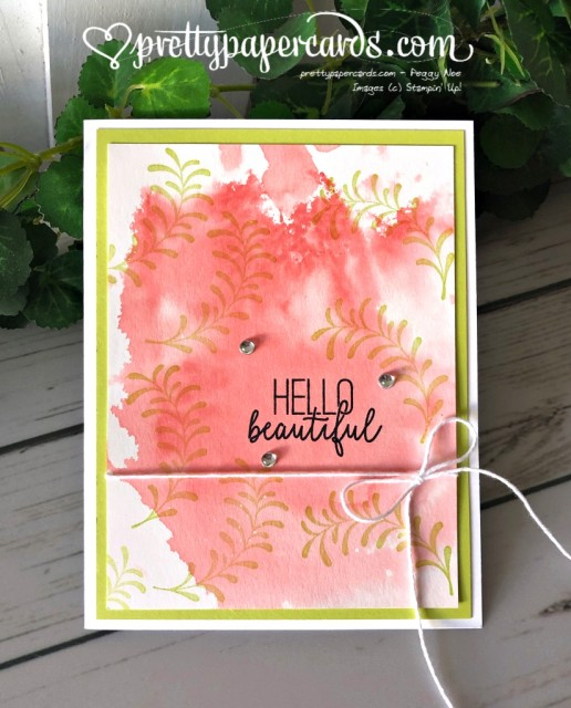 Stampin' Up! Hello Beautiful - Peggy Noe - stampinup