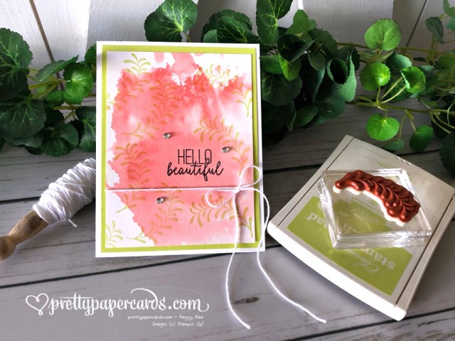 Stampin' Up! Hello Beautiful - prettypapercards - stampinup