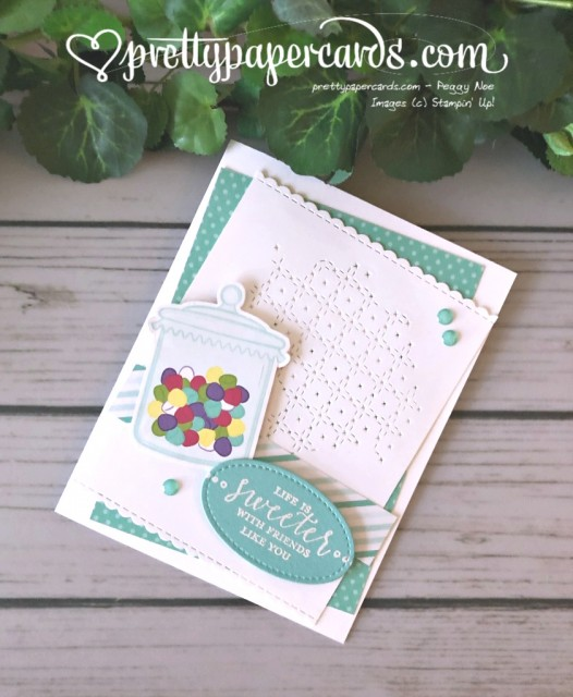Stampin' Up! How Sweet It Is - Peggy Noe - stampinup