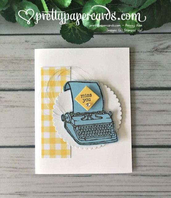 Stampin' Up! P.S. You're the Best - Peggy Noe - stampinup